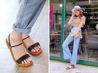 FMshoes將按摩顆粒鞋墊結合5款經典設計,大尺碼也能穿美美涼鞋