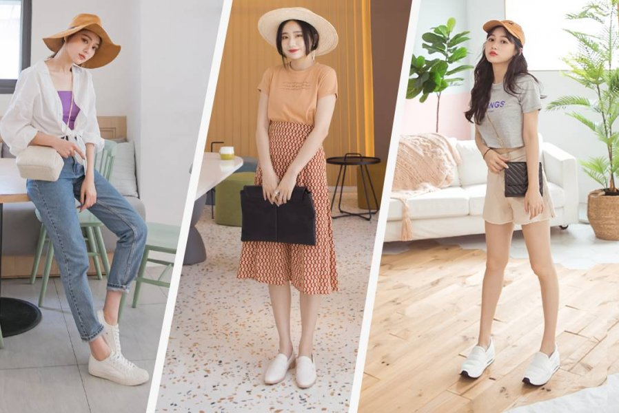 小白鞋穿搭最終招:百搭是指方便穿搭,不是隨便穿搭
